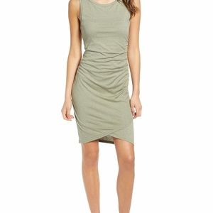 Leith Ruched Bodycon Dress Size L